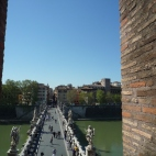 Photo 119 : The bridge to Castel Sant'Angelo, Rome